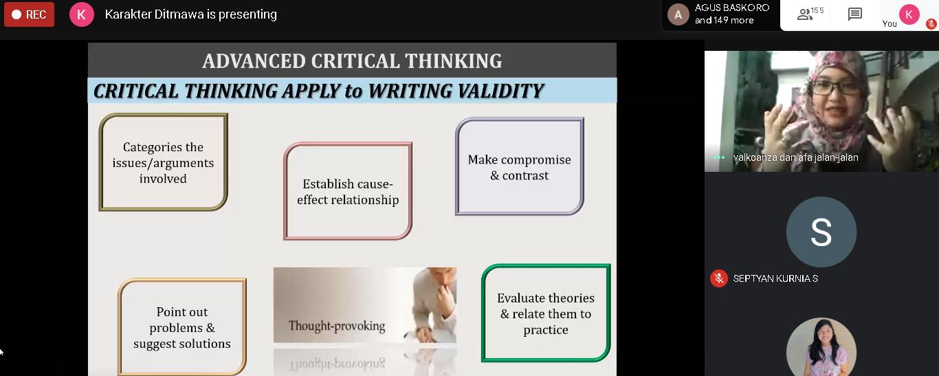 Advanced Thinking Skill PMW 2020