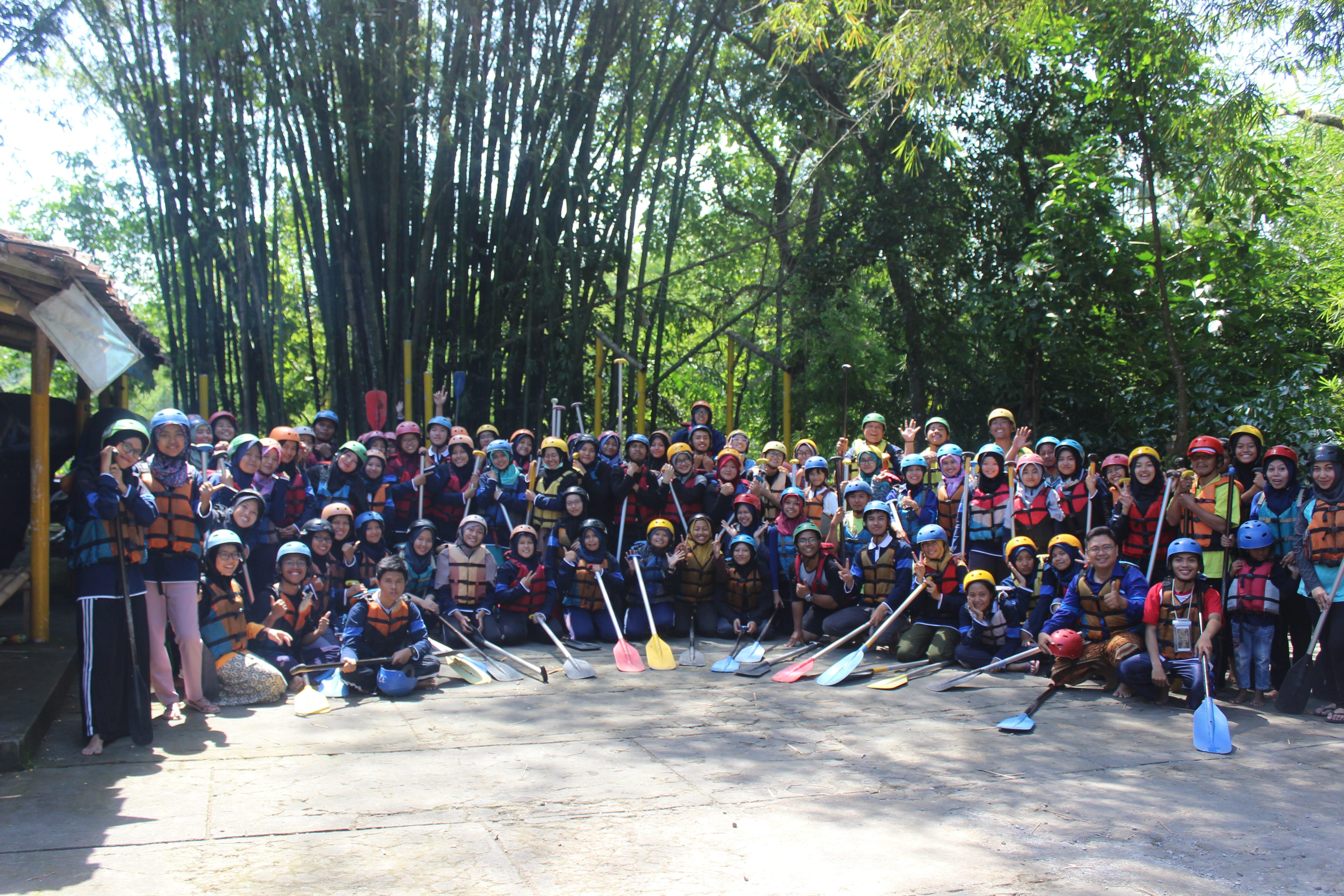 Rafting Program Mahasiswa Wirausaha (PMW) 2018