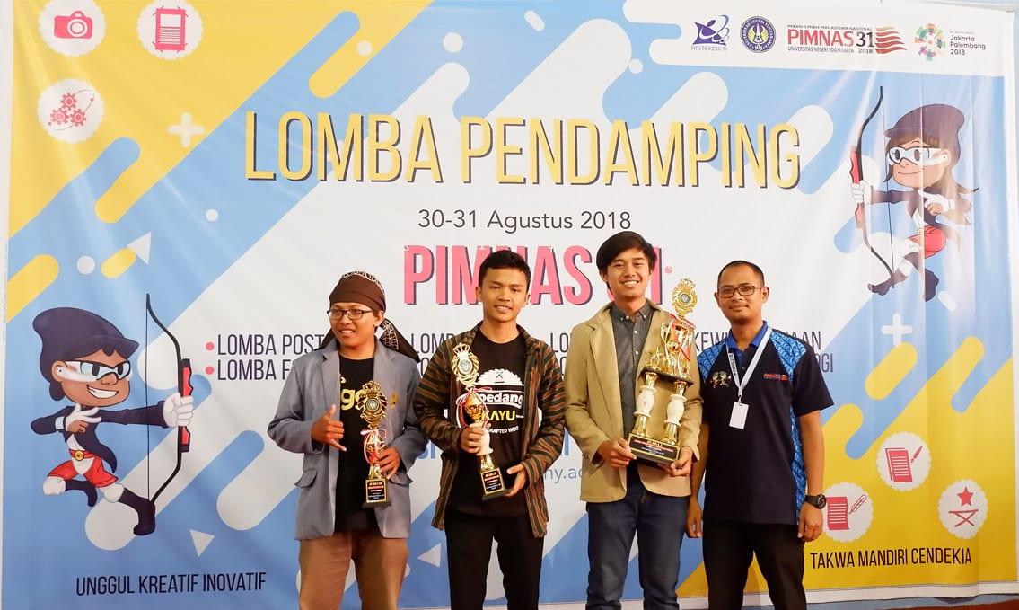 Peserta PMW 2018: Bakul Quilling Juara 1 PIMNAS 31 Kategori Kreativitas Dekorasi Stand