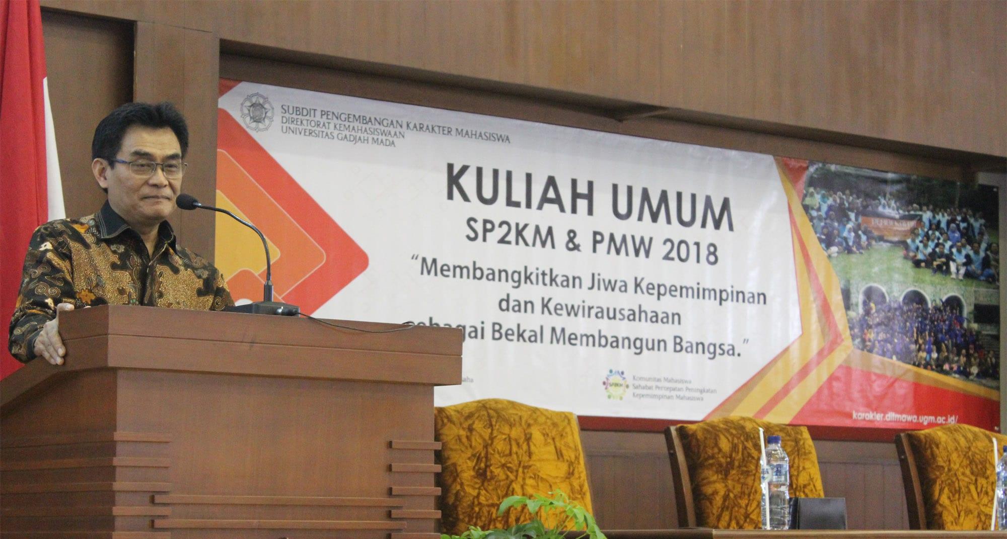 Kuliah Perdana Sinergi Karakter SP2KM & PMW 2018